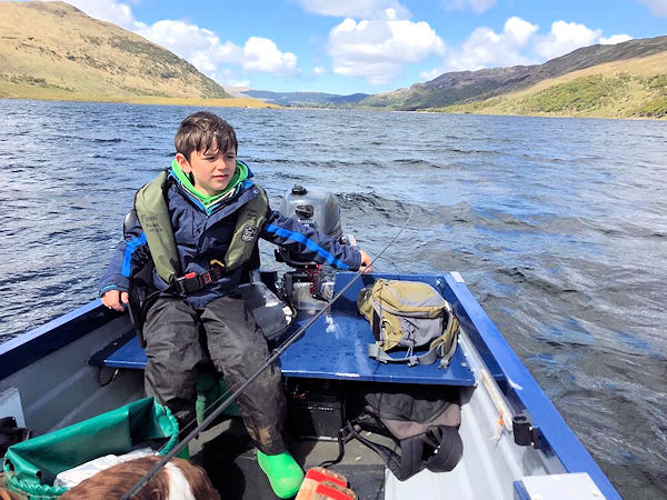 Fishing on Mull